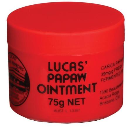 Kem Đa Năng Chuyên Hỗ Trợ Trị Nứt Nẻ Lucas Papaw Ointment 75g