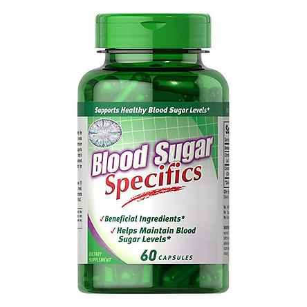 Thực Phẩm Chức Năng - Viên Uống Giảm Lượng Đường Trong Máu, Hỗ Trợ Giảm Các Biến Chứng Ở Người Tiểu Đường Blood Sugar Specifics (60 Viên)