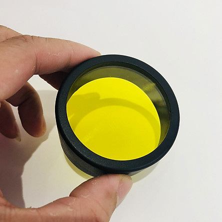 Chụp Len Vàng Phá Sương Mù Trợ Sáng Đèn L4, L4X + Tặng 01 Móc Gắng Chìa Khóa Xe Ngẫu Nhiên