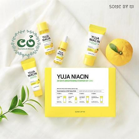 Bộ dưỡng trắng Some By Mi Yuja Niacin 30 Days Brightening Starter Kit
