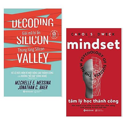 Combo Sách Kinh Doanh Hay : Giải Mã Bí Ẩn Thung Lũng Silicon + Tâm lý học thành công - Tặng Kèm Postcard HAPPY LIFE