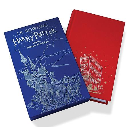 Harry Potter Part 3: Harry Potter And The Prisoner Of Azkaban (Hardback) Gift Edition (Harry Potter và Tù nhân ngục Azkaban) (English Book)