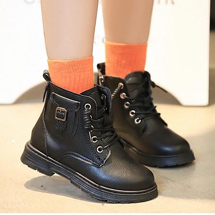 Giày bốt bé gái hàn quốc_QN336M