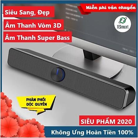 Loa XSmart SADA V-193 SUPER BASS 2021 Có Bluetooth Âm Thanh Vòm 3D Phiên Bản Đặc Biệt, Dùng Cho Máy Tính, Laptop, PC, Tivi - Hàng Chính Hãng