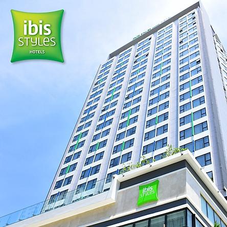 Gói 3N2Đ iBis Styles Nha Trang Hotel 4* - Buffet Sáng, Hồ Bơi, Gần Ngay Biển, Tháp Trầm Hương, Chợ Đêm, Dành Cho 02 Người