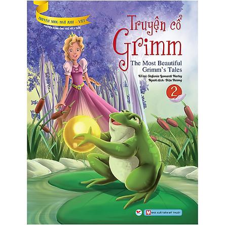 Truyện Cổ Grimm 2 - Truyện Song Ngữ Anh - Việt