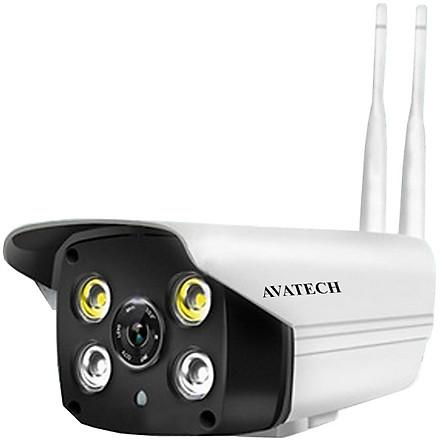 Camera Giám Sát IP Wifi Ngoài Trời AVATECH NT2.0 - Hàng Chính Hãng