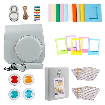 Bộ Phụ Kiện Các Loại Cho Hình Máy Ảnh Fujifilm Instax Mini 9 (Tùy Chọn Màu Sắc)