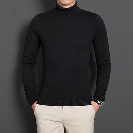 Áo len cổ lọ - áo len nam cổ lọ thời trang - áo len cổ cao dành cho cả nam và nữ