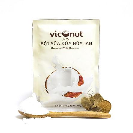 Bột sữa dừa hoà tan Viconut (40g)