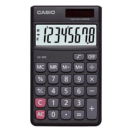 Máy Tính Casio SX300-W-DP