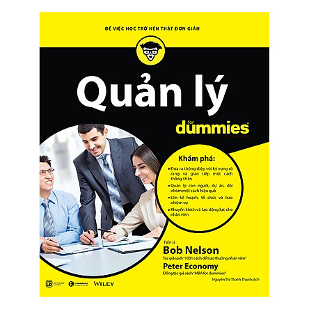 Quản Lý For Dummies - Để Việc Học Trở Nên Thật Đơn Giản