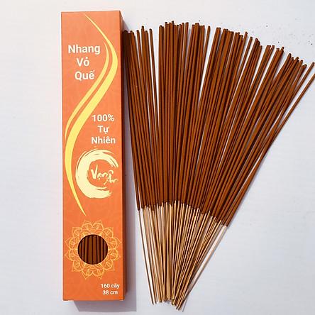 Nhang vỏ quế Vạn Ân 38cm 160 cây (Cinnamon incense)