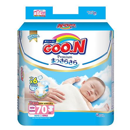 Tã Dán Goo.n Premium Gói Cực Đại Newborn NB70 (70 Miếng)