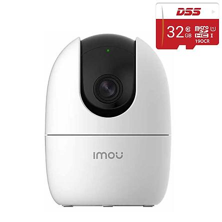 Trọn Bộ Camera IP Imou IPC-A22EP 2.0mp và Thẻ Nhớ DSS 32Gb - Hàng Chính Hãng