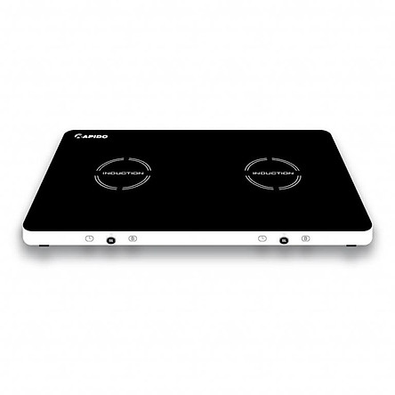 Bếp từ đôi dương RAPIDO RI3000KP màn LED 9 cấp độ 4000W Hàng chính hãng
