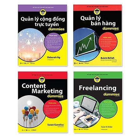 Quản Lý Bán Hàng For Dummies + Freelancing for  Dummies + Quản Lý Cộng Đồng Trực Tuyến For Dummies+ Content Marketing For Dummies