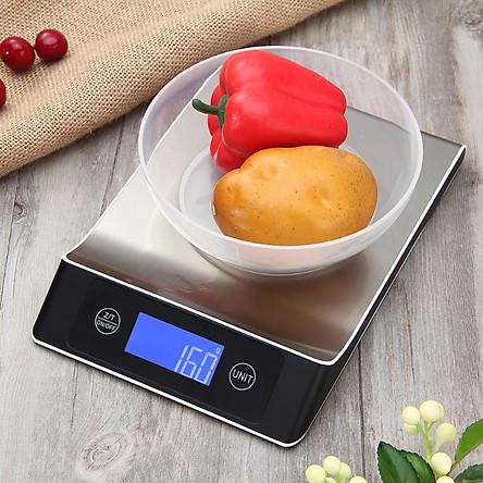 Cân điện tử nhà bếp 5kg/1g cao cấp V2017 ( Chống nước nhẹ )