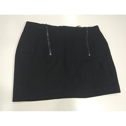 Chân váy ngắn phối khóa trang trí WEMEET - 115116011