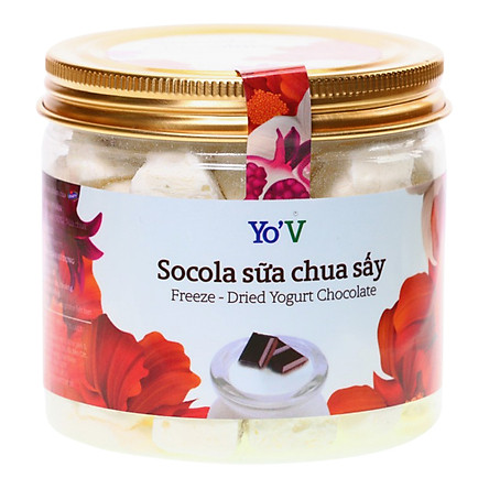 Sữa Chua Sấy Yo'V Vị Socola (80g)