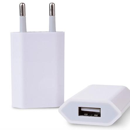 Adapter sạc  1A chuẩn, sạc nhanh, dành cho Iphone 5/5+/6/6+/7/7+/8
