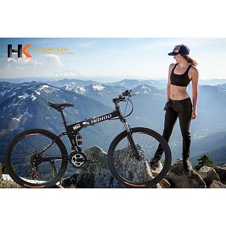 Xe đạp gấp thể thao địa hình HaHoo (Bánh căm)