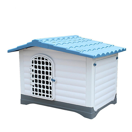 Nhà nhựa cho chó cao cấp (84x110x81)