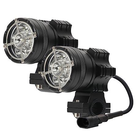 Motorcycle Led Headlight 6LED 6000K Waterproof Driving Spot Fog Lights External MOTO Accessories