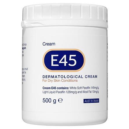 E45 Moisturising Cream for Dry Skin and Eczema 500g