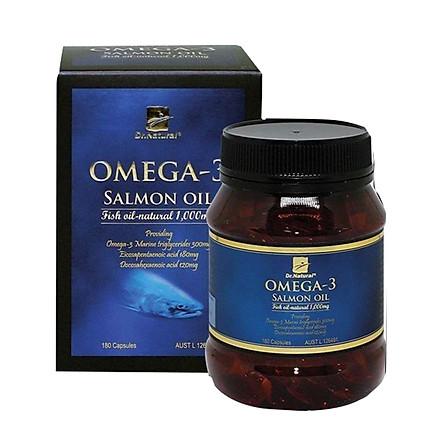 Thực Phẩm Chức Năng Viên dầu cá Hồi Dr Natural Omega 3 Salmon Oil