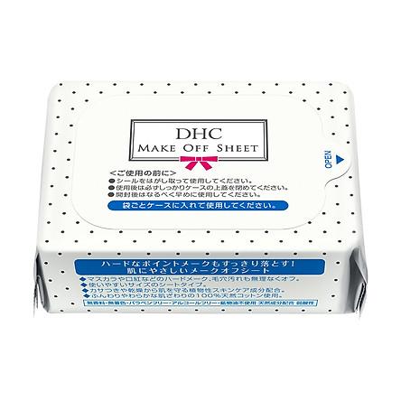 Khăn tẩy trang DHC Make-Off Sheet (Refill) 50 miếng