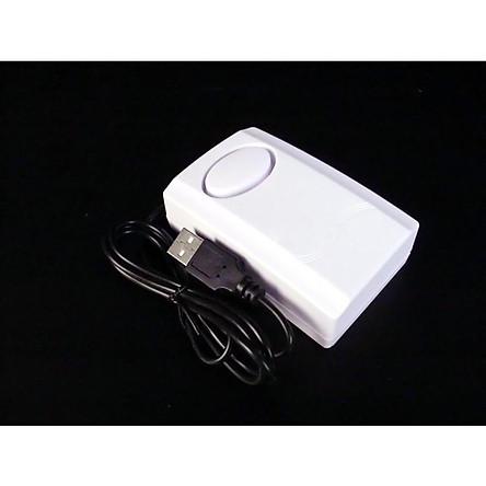 Thiết bị báo động chống trộm máy tính cắm USB (Tặng kèm 02 nút kẹp cao su giữ dây điện)