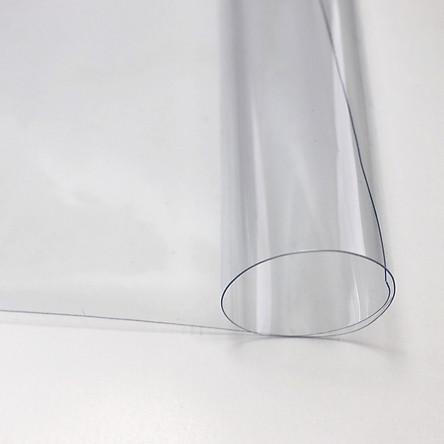 Tấm nhựa PVC trong suốt, dẻo, mềm, không thấm nước dùng trang trí, làm ô, phụ kiện thời trang độ dày 0.3mm