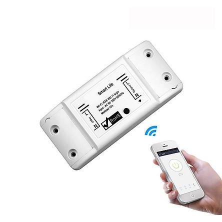 Công tắc điều khiển từ xa kết nối wifi/3G/4G Smart life phần mềm tiếng việt dễ sử dụng