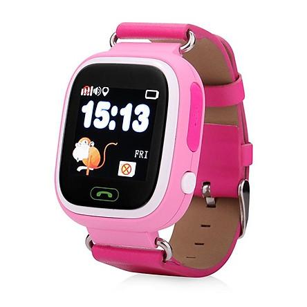 Đồng hồ định vị GPS Wonlex GW100 (Hồng)