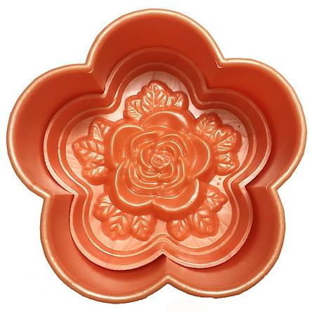 Khuôn ép xôi 5 cánh hoa hồng