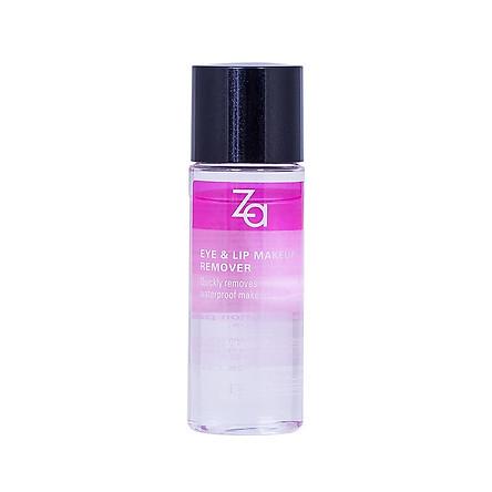 Nước Tẩy Trang Mắt Môi Eye & Lip Makeup Remover ZA (30ml)