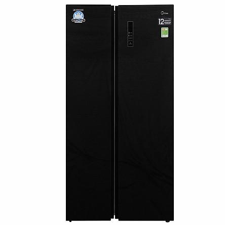 Tủ lạnh Inverter 530L Midea MRC-690GS - Hàng Chính Hãng