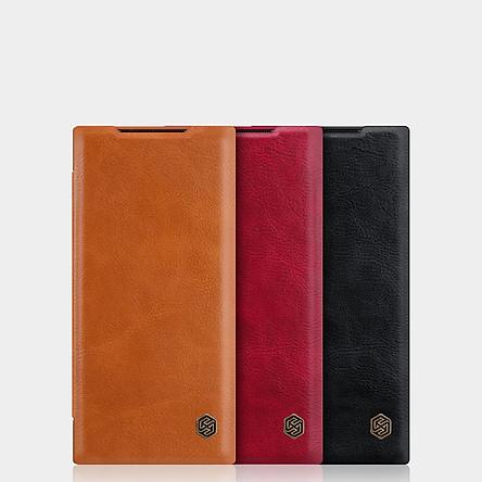 Bao da Galaxy Note 20 Ultra NIllkin Qin - Hàng chính hãng