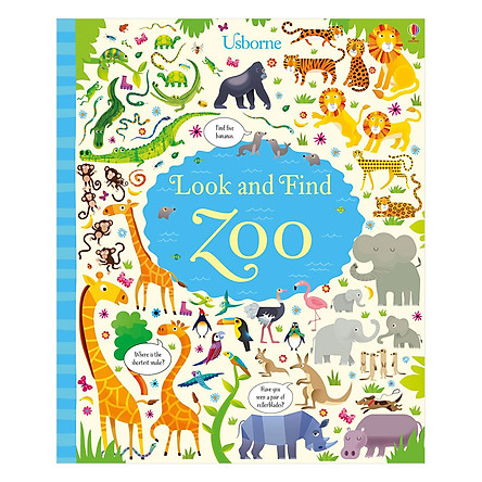 Usborne Look And Find: Zoo