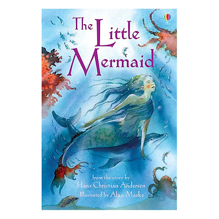Usborne Young Reading Series One: The Little Mermaid  + CD
