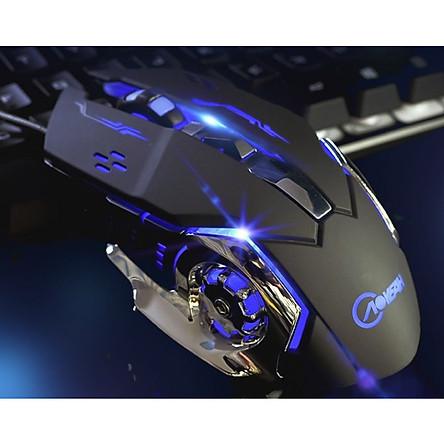 Chuột chơi game hoặc làm việc văn phòng có đèn phát sáng siêu hịn CH11