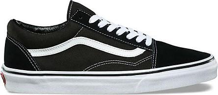Giày Sneaker Unisex Old Skool Vans VN000D3HY28 - Black/White