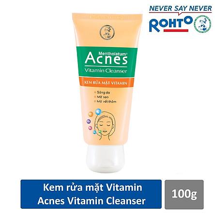Kem rửa mặt Vitamin Acnes Vitamin Cleanser 100g