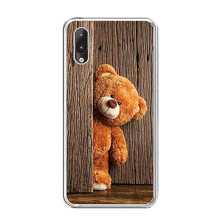 Ốp lưng dẻo cho điện thoại Vsmart Star - 0136 TEDDY - Hàng Chính Hãng
