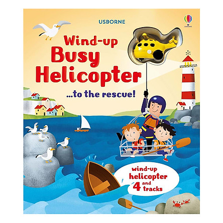 Usborne Wind-up busy helicopter...to the rescue