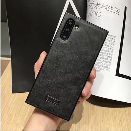 Ốp lưng Samsung Galaxy Note 10/ Note 10 Plus chính hãng SULADA dạng da mềm