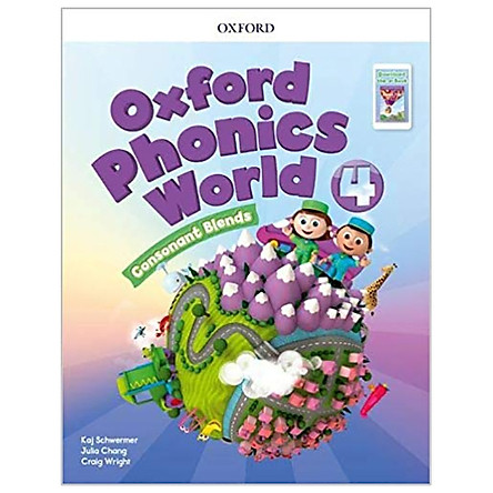 Oxford Phonics World Refresh 4 Students Book Pack