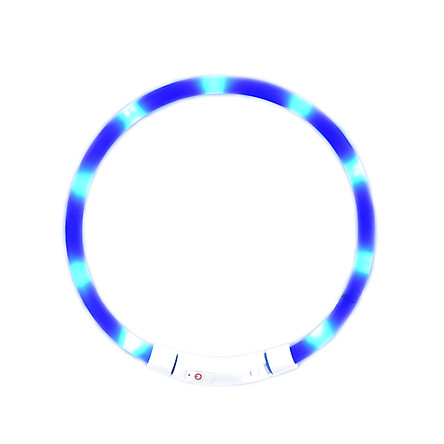 Xiaomi Youpin LED Dog Collar Glowing USB Rechargeable Pet Dog Collar For Night Safety Fashion Light Up Collar For Small