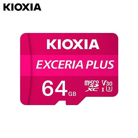 KIOXIA 64GB TF(Micro SD) Memory Card Support 4K HD Video U3 High Speed Waterproof Memory Card for